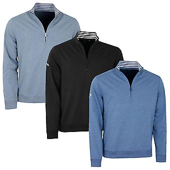 Callaway Mens Golf French Terry 1/4 Zip Pullover Sweater