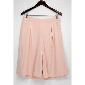 G.I.L.I. got it love it Petite Shorts Culottes with Pockets Pink A277134
