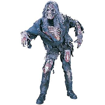 Complete 3D Zombie Skeleton Halloween Men Costume