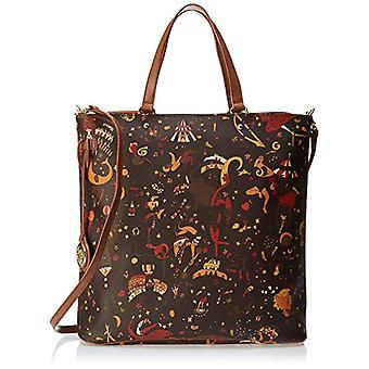 piero drives Cross Body Cross Body Bag Woman (Brown) 33x32x11 cm (W x H x L)