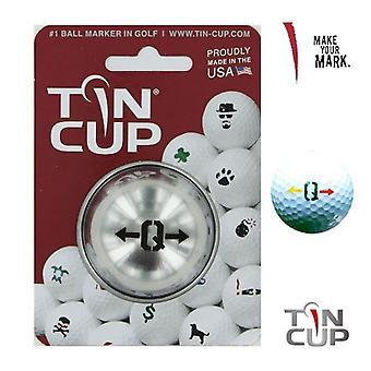 Tin Cup Golf Ball Marking System Alpha Spieler Q