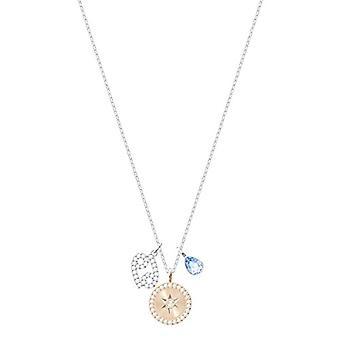 Swarovski Pendant Zodiac - Cancer - Turquoise - Rhodio Plating