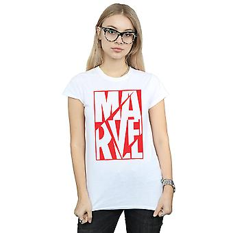 Marvel Women's Portrait Logo T-Shirt