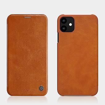 Protective Case Faux Leather Flipcase Cover for Apple iPhone 11 Pro MAX 6.5 inch Brown Case Case