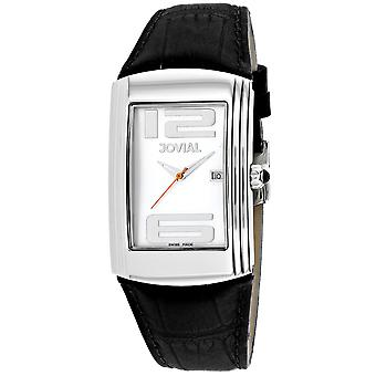 Jovial Men's Classic Mother of Pearl Dial Watch - 08004-GSL-20