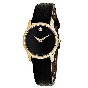 Movado Women's Museum Black Dial Watch - 607016