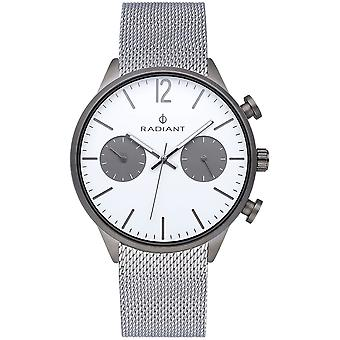 Radiant luke Quartz Analog Man Watch avec RA532702 Bracelet en acier inoxydable