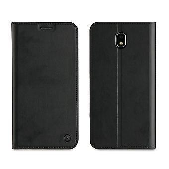 Galaxy J7 Case (2017) Black Card Gate - Muvit
