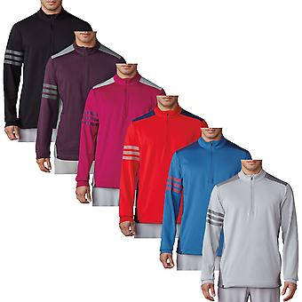 adidas Golf Mens Competition 1x4 Zip Pullover