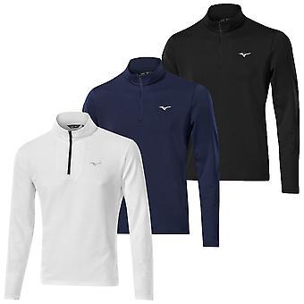 Mizuno Mens Golf Breath Thermo 1/4 Zip Moisture Wicking  Sweater
