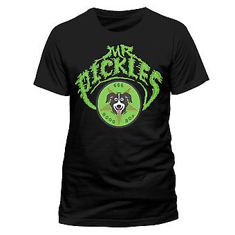 Mr Pickles Unisex Adults Logo Design T-shirt