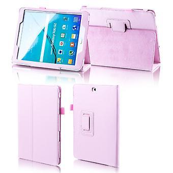 Samsung Galaxy tab A-10.5 T590 T595 pink faux nahka kattaa pussi tapauksessa uusi