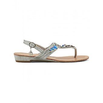Laura Biagiotti-sko-Sandal-713_METAL_SILVER-kvinder-lysegrå, blå-37