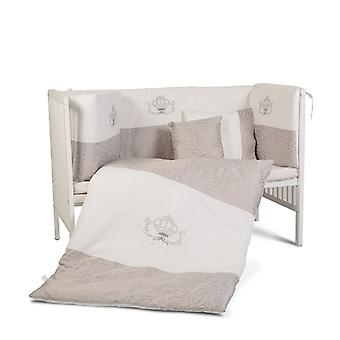 Cangaroo Royal baby cot attrezzature 9 pezzi, nidi, cuscini, coperta 120x60 cm