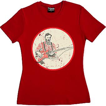 Seasick Steve Red Femmes-apos;t-shirt