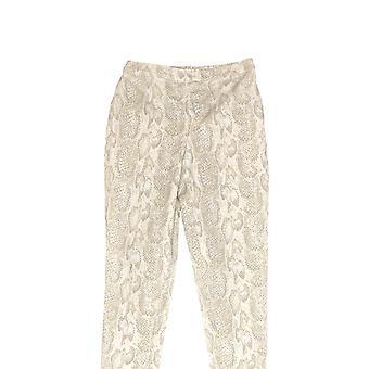 Isaac Mizrahi Live! Kvinner ' s Petite bukser 24/7 strekk elfenben A289790