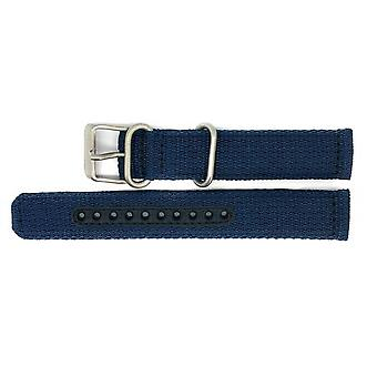 Seiko 5 Snk807 / Snk807k2 Replacement Blue Fabric Watch Strap 4k12jz