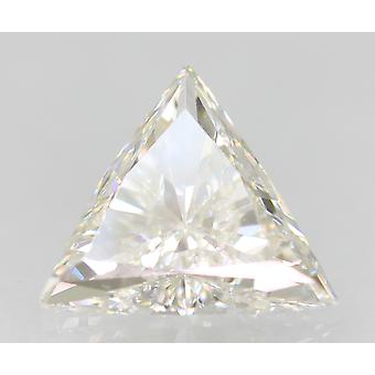 Certified 0.47 Carat E Color VVS1 Triangle Natural Loose Diamond 6.78x6.15mm 2VG