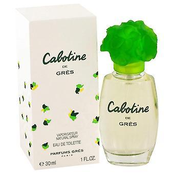 Cabotine eau de toilette spray door parfums gres 412682 30 ml