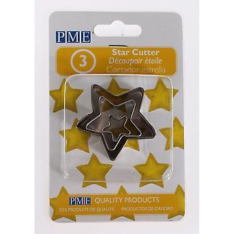 Cortadores de Estrella PME 3 Pieza