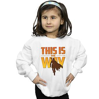 Star Wars Girls The Mandalorian This Is The Way Sweatshirt
