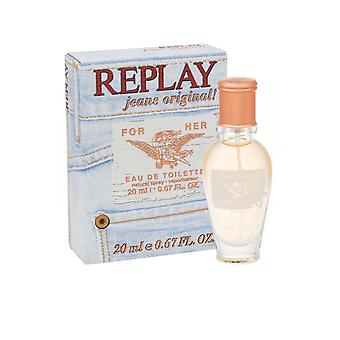 Replay Jeans Original Eau de Toilette Spray 20ml
