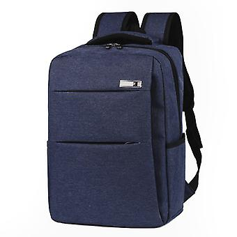 Stylish and roomy backpack-blue