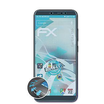 atFoliX 3x Écran protecteur compatible avec Wiko Y80 Protecteur d'écran clair&flexible