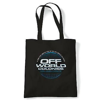 Off World Colonies Blade Runner Movie Inspired, Tote - Reusable Shopping  Bag