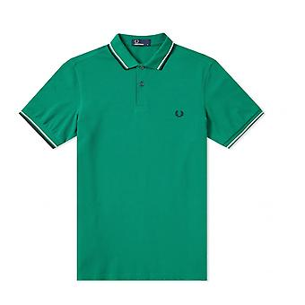 Fred Perry Twin Tipped FP camiseta verde Polo