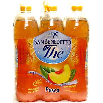 San Benedetto Peach Iced Tea-( 500 Ml X 12 Bottles )