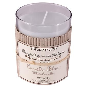 Durance de Provence Hand Crafted Scented Candle - White Camelia