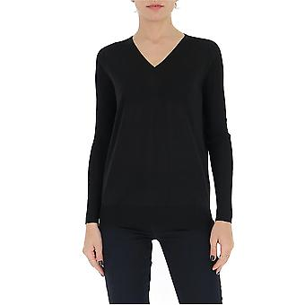 Gentry Portofino D653alg0009 Women's Black Cotton Sweater