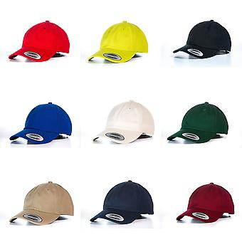 Yupoong Flexfit 6-panel Baseball Cap With Buckle