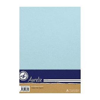 Aurelie Elegant Shimmering Paper Baby Blue (AUSP1010)