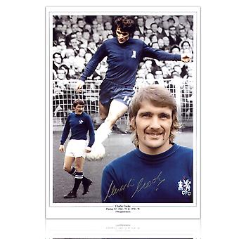 Charlie Cooke signiertes Chelsea Photo