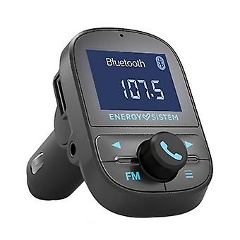 MP3 Player and FM Bluetooth Transmitter for Cars Energy Sistem 447268 USB Black