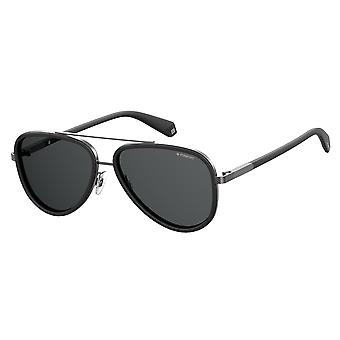 Polaroid PLD2073/S 003/M9 Matte Black/Polarised Grey Glasses