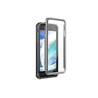 iPhone 6/7/8 Plus - stöttåligt skal med skärmskydd