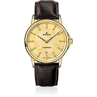 Edox - ساعة اليد - السيدات - 57001 37J DI - Les Bémonts