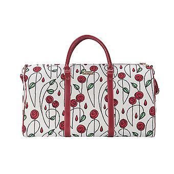 Mackintosh yksinkertainen ruusu iso holdall | kukka matkamatkalaukut | Kävi koulua bhold-rmsp