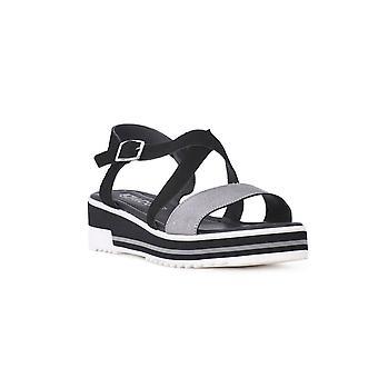 IGI&CO 31917 31917NERO chaussures universelles pour femmes d'été