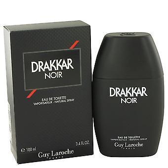 Drakkar Noir Eau De Toilette Spray By Guy Laroche 3.4 oz Eau De Toilette Spray