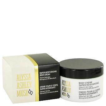 Alyssa Ashley Musk Body Cream By Houbigant 8.5 oz Body Cream