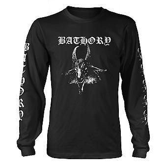 Bathory Longsleeve Cabra Oficial Camiseta Hombres Unisex