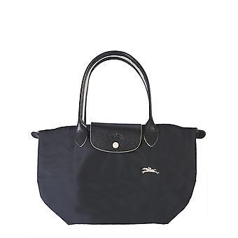 Longchamp 2605619001 Women's Black Polyester Shoulder Bag