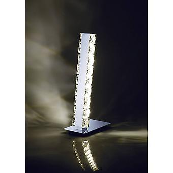 Lampe de table Galaxy 3w Led 4000k Chrome poli / Cristal