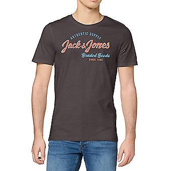 Jack & Jones Mens JJelogo Imprimé Crew Neck T Shirt Tee