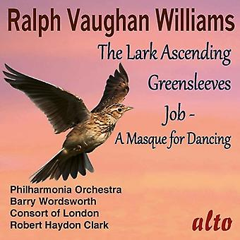 Wordsworth, Barry / Philharmonia Orchestra - Vaughan Williams: The Lark Ascending Greensleeves [CD] USA import