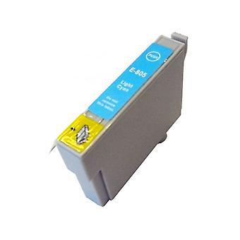 RudyTwos Ersatz für Epson Kolibri Ink Cartridge LightCyan kompatibel mit Stylus Photo P50, PX650, PX660, PX700W, PX710W, PX720WD, PX800FW, PX810FW, PX820FWD, PX830FWD, R265, R285, R360, RX56